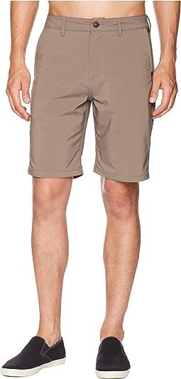 "Transit Twill 20"" Amphibian Shorts"