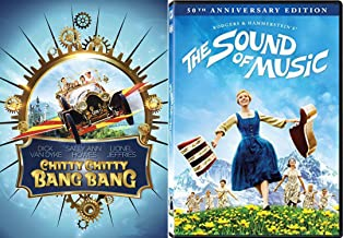 50th Anniversary Musical DVD Bundle - Sound of Music & Chitty Chitty Bang Bang 2-Movie Collection