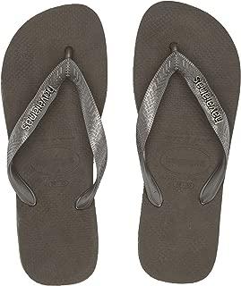 Havaianas Women's Flip Flop Sandals, Logo Metallic