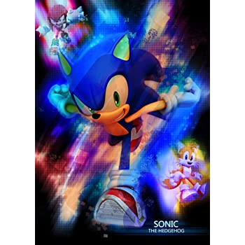 Amazon Com Mcposters Sonic The Hedgehog 2019 Glossy Finish Movie Poster Mcp798 24 X 36 61cm X 91 5cm Posters Prints