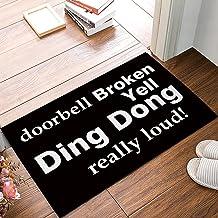 """Funny Waterproof Bathroom Doormat Home Decor Welcome Large Mat Entrance Way Indoor/Outdoor Carpet Floor Rugs 23.6 L""""x 15.7..."""