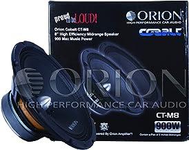 "ORION Cobalt Series CT MIDRANGE CAR Audio CAR Stereo MID (CT-M8 / 8"" 4 OHMS) photo"