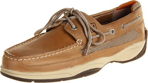 Lanyard 2-Eye Boat zapatos, Ropa de cama, 12 M US