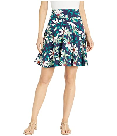 Royal Robbins Essential Tencel(r) Skirt (Ink Blue Print) Women