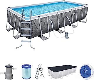 Bestway Pool Set Power Steel 488X244X122Cm
