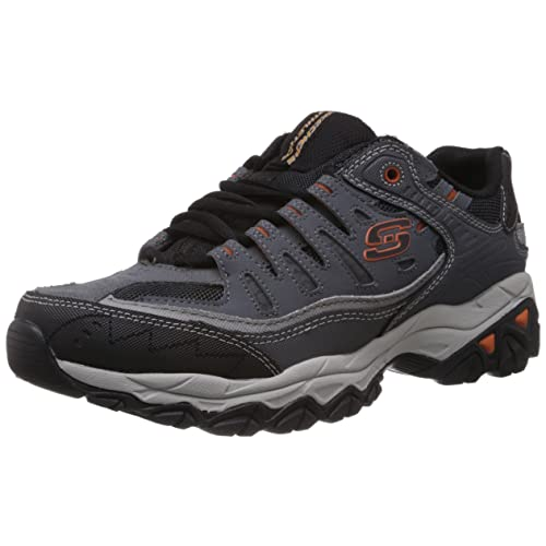4a59113f0c98e Skechers Men s Afterburn Memory-Foam Lace-up Sneaker