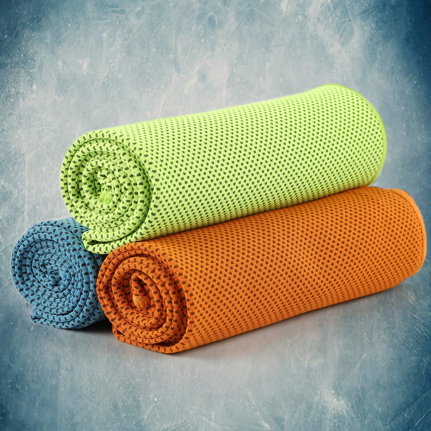 Travel Camping Fitness Yoga 5Pack Cooling Towels 40x 12 Running ...