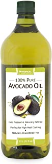 Tropical Plantation 51oz 100% Pure Avocado Oil, Cholesterol Free Made from Hass-Avocados, Cold-Pressed and Natural Refined by Lily of the Desert