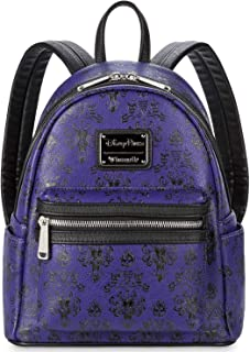 Disney Parks Haunted Mansion Wallpaper Loungefly Backpack