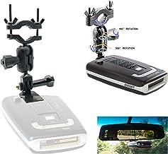 Easy Install Car Truck Rear View Mirror Radar Detector Mount for Escort Max Max2 / Max 2 / Max II / Max360 Radar (NOT Comp...