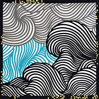 三陽商事 綿三巾ふろしき 彩華波涛 サイカハトウ Designed by 川島織物セルコン 11-052301 約105cm幅
