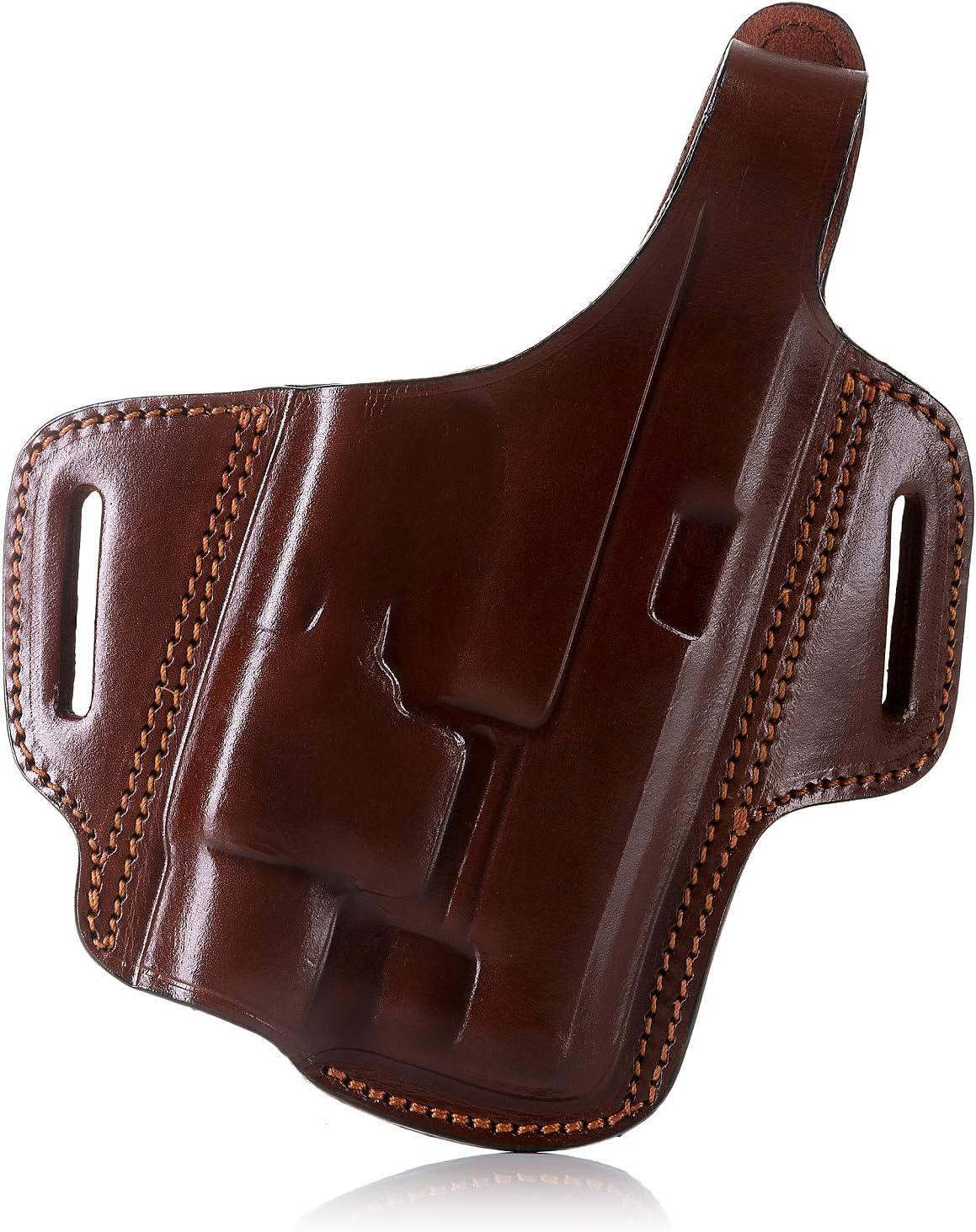 Black Details about  /Galco Halo Belt Leather Holster Left HLO213B Belt Holster