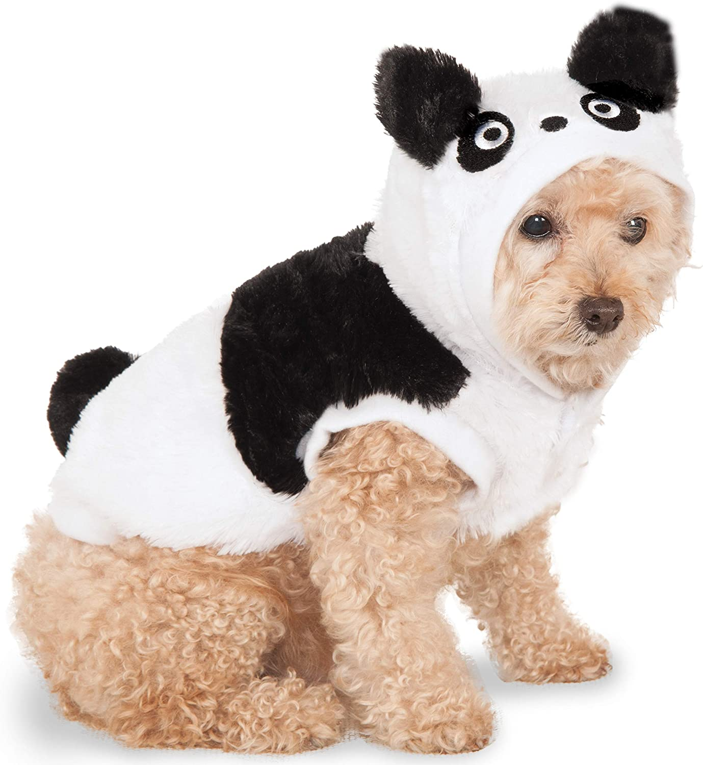 Rubies Costume Co Company 580362_XXL Panda Hoodie for Pet, XXLarge