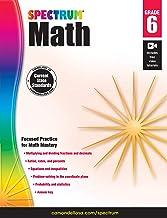 Spectrum   Math Workbook   6th Grade, 160pgs