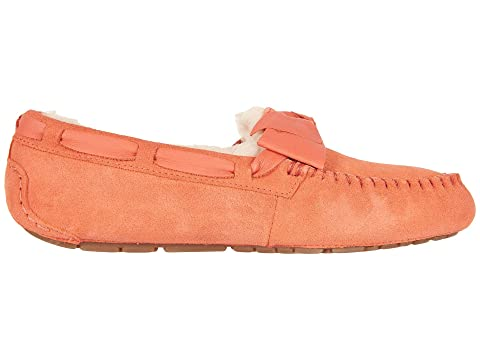 Pay With Visa Online UGG Dakota Leather Bow Vibrant Coral Very Cheap Buy Online New Discounts Sale Online Best Prices Sale Online aHQFM