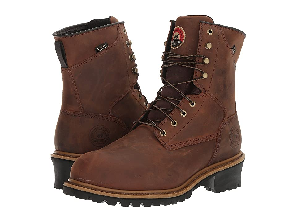 Irish Setter Mesabi 8 Steel Toe Insulated (Brown) Men