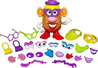 Playskool Mrs. Potato Head Silly Suitcase Parts and Pieces Toddler Toy for Kids (Amazon Exclusive)