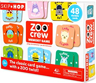 Skip Hop Zoo Crew Memory & Matching Game, 48 Count (Pack of 1)
