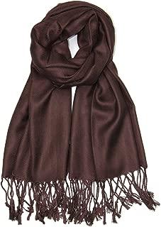 Soft Silky Solid Pashmina Shawl Wrap Scarf for Wedding Bridesmaid Dress