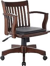 Best black wood desk chair Reviews