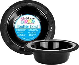 Platinum Pets SwitchIN Stainless Steel Wide Rimmed Dog/Cat Bowl