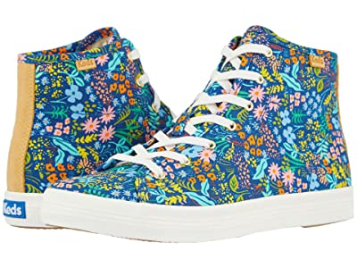 Keds Keds x Rifle Paper Co. Kickstart Hi Meadow (Navy Multi Printed Canvas) Women