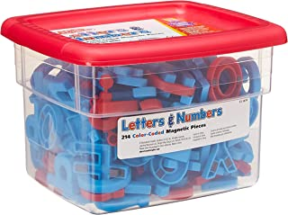 Educational Insights Color-Coded AlphaMagnets and MathMagnets, Ages 4 and up, (214 Pieces)