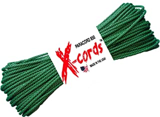 X-CORDS Paracord 850 Lb Stronger Than 550 and 750 Made by Us Government Certified Contractor