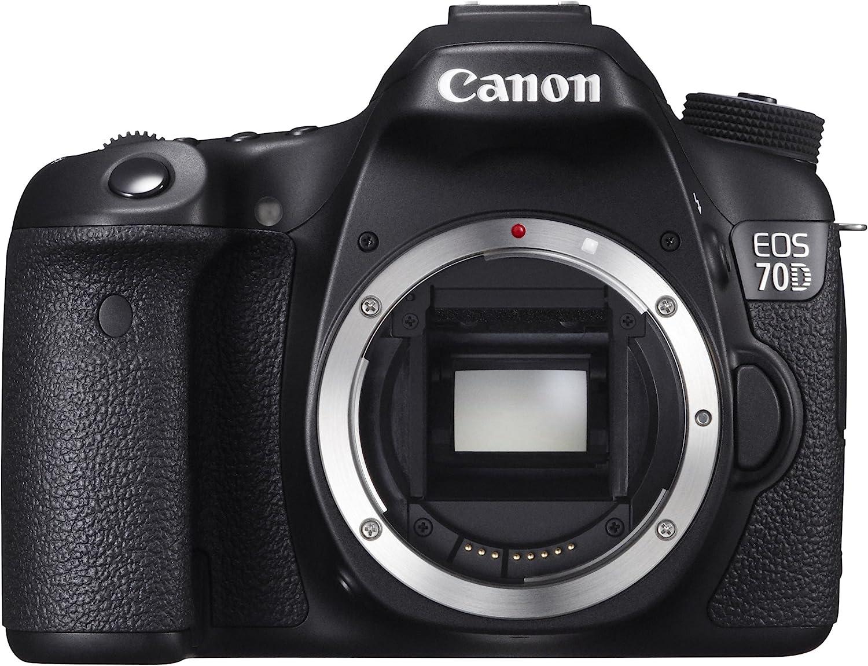 Canon EOS 70D 8469B002 Digital Clearance SALE depot Limited time SLR MP Digit 20.2 Cameras Black