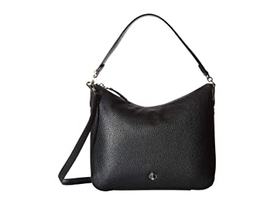 Kate Spade New York Polly Medium Shoulder (Black) Handbags