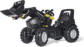 Rolly Toys Deutz Agrotron 7250 TTV WARRIOR Trettraktor  Frontlader rollyFarmtrac Traktor Kinder ab 3 - 8 Jahre Schwarz 710348