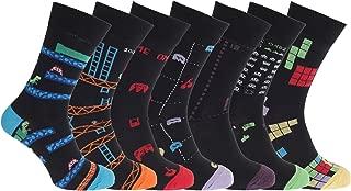 Mens Retro Games Socks Size 7-12 (7 Pack)