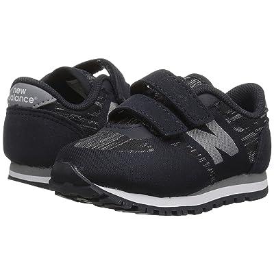New Balance Kids KA420v1 (Infant/Toddler) (Black/Grey) Boys Shoes