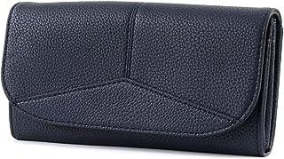 13ffd9747a227 ESPRIT Damen Geldbörse Portemonnaies Colby flat clutch Blau 038EA1V002-E400