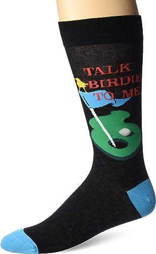 K. Bell Socks mens Sports and Outdoors Novelty Crew Socks