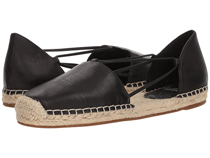 Eileen Fisher  Lee (Black Washed Leather) Womens Flat Shoes