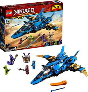 LEGO Ninjago Legacy Jay's Storm Fighter Building Kit, Multi-Colour, 70668