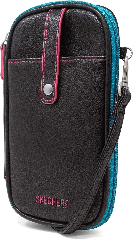 Skechers RFID Cell Phone Crossbody Bag Wallet