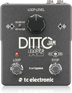 tc electronic 2ボタン ルーパー DITTO JAM X2 LOOPER