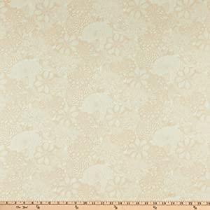 Wilmington Prints Wilmington Essentials 108'' Quilt Backing Floral Toile Cream Fabric by The Yard