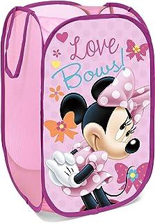 Superdiver Panier Pliable pour Enfants en Tissu avec poignées - Disney Minnie Mouse I Cube Organisateur pour vêtements et ...