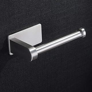 ZUNTO Porte Papier Toilette Autoadhésif - Acier Inox Porte-Rouleau Papier Hygiénique Sans Perçage Porte Rouleau Papier Hyg...