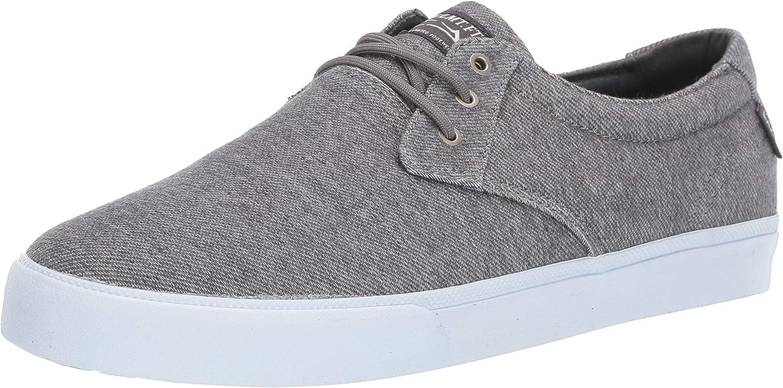 Lakai Unisex's Footwear DALY Charcoal TEXTILESize 6.5 Tennis shoes, Textile, M US
