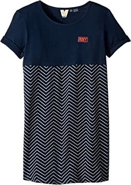 Dress Blues Zigzag Stripes