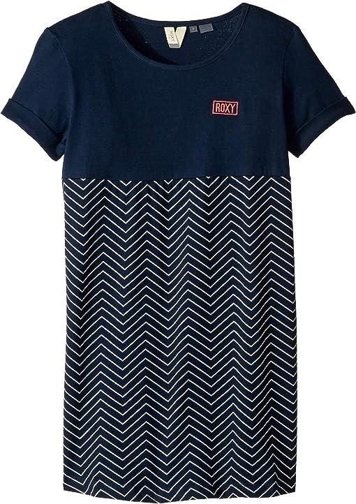 Dress Blues Zigzag Stripes