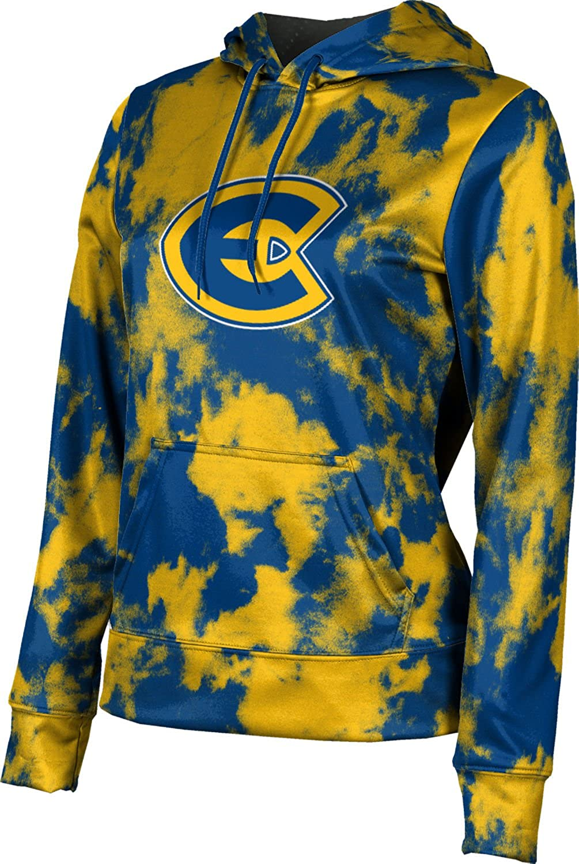 University of Wisconsin-Eau Claire Girls' Pullover Hoodie, School Spirit Sweatshirt (Grunge)