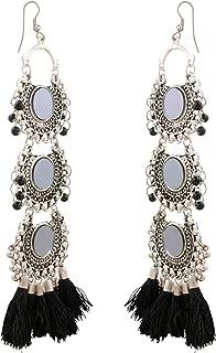 Best oxidised jhumka earrings online Reviews