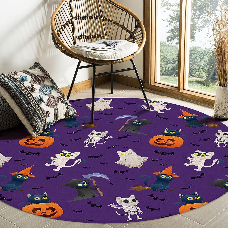 CyCoShower Max 73% OFF Area Rug Super Soft Felt Room Happ Carpets for Living New item