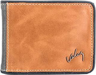 VÉLEZ 01747 Leather Bifold Wallets For Men | Cartera De Cuero De Hombre Beige