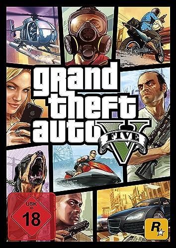 Grand Theft Auto V - Standard Edition [PC Code - Rockstar Social Club]